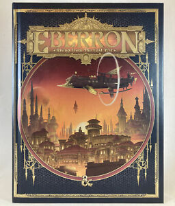 New DD Eberron Rising From the Last War Alternate Cover 5E Dungeons And Dragons $109.99