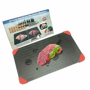 Defrosting Tray Large for Frozen Meat and Food Fast Thawing PlatePlate Natur...