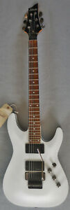 Schecter Diamond Series C 1 FR with Special Edition Invader Pickups White w Bag $399.00
