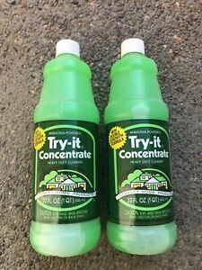 Lot Of 2 Nos Stanley Home Product Try It Concentrate Ammonia Powered Cleaner 2qt
