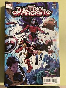 Trial Of Magneto #2 Schiti Cover A Scarlet Witch Marvel Comic 1st Print 2021 NM $3.79