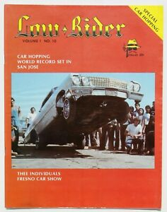 LIKE NEW quot; 1978 # 10 LOWRIDER MAGAZINE quot; TEEN ANGLE ART quot; NEVER READ $69.00