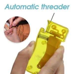 Auto Needle Threader DIY Tool Home Device Hand Machine Sewing Automatic Thread C $0.99