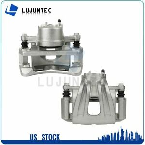 Front Brake Calipers With Bracket For 2002 2003 2004 2005 2006 2007 Jeep Liberty $109.09