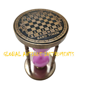 Nautical Brass Hourglass Vintage Style Antique Sand Timer For Home Office Gift $74.99