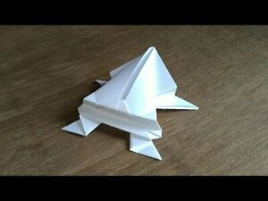 Origami Paper Handmade Frog Gifts For Family Or Friends
