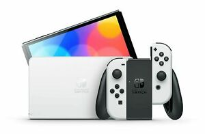 *NEW* Nintendo Switch OLED Console w White Joy Con SHIPS FAST TODAY $479.99