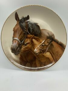 Fred stone horse plates signed and numbered. Pasture Pest. retired 3506 $59.99