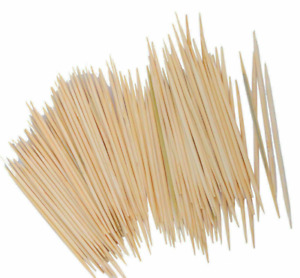 10 Pcs Tooth Picks Double Pointed Oral Care Toothpick Sticks $5.22