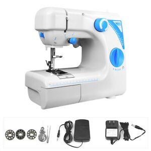 Portable Electric Small Sewing Machine 12 Stitches Household Tailor US 2 Speed $34.99