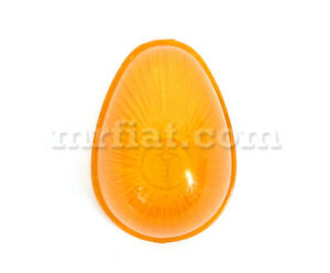 Alfa Romeo Duetto Spider Amber Side Turn Light Signal Lens New $24.00