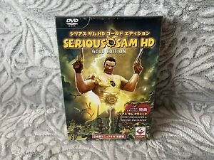 Serious Sam HD: Gold Edition Japanese Box Edition PC NEW amp; SEALED $249.00