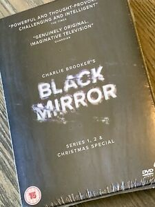 Black Mirror Series 1 2 and CHRISTMAS Special DVD Region 2 SPECIAL FEATURES $17.25
