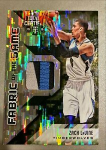 2015 16 Totally Certified Zach LaVine Fabric of the Game #25 25 Camo quot;Game wornquot;