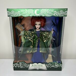 Disney Limited Edition Hocus Pocus Sanderson Sisters Winifred Doll IN HAND $239.99