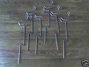 Rod Holders For Bank Fishing Package of 6