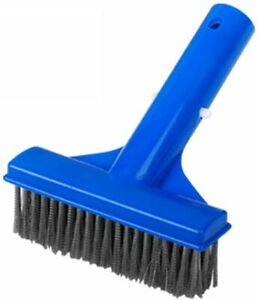 5quot; Algae Brush Corner Brush w Stainless Steel Bristle for Pool Spa and Fountain