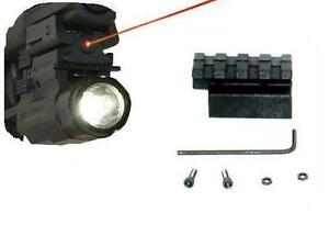 LOW PROFILE DETACHABLE LASER AND LIGHT COMBO FOR SMITH AND WESSON SIGMA 9VE 40VE