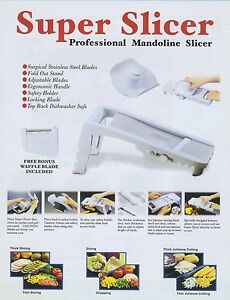Super Slicer Grater Julian Mandoline Set