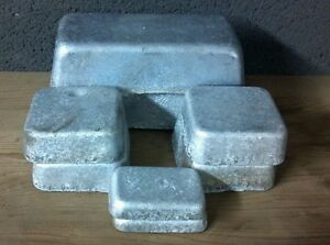 5+ Pounds of hard clean Lead Ingots for bullets or sinkers