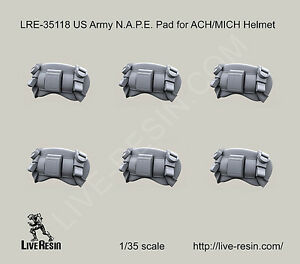 Live Resin 135 LRE-35118 US Army N.A.P.E. Pad for ACHMICH Helmet