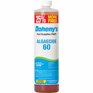 Dohenys Concentrated Algaecide 60 40 oz Bottle