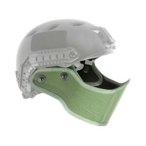 Lancer Tactical CA-801G FAST Helmet Armour for Lower Face Protection OD Green