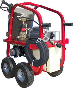 Electric Hot Water Pressure Washer - 2200 PSI - 3.4 GPM - 220V - Direct Drive