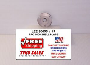 90655 * LEE PRO 1000 SHELL PLATE #7(A) * 30 M-1 CARBINE * 32-20 (WCF) * 32 AUTO
