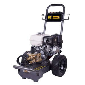 BE Professional 3800 PSI (Gas - Cold Water) Pressure Washer w Honda GX270 En...