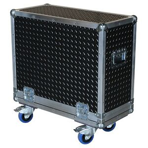 Diamond Plate Rubberized Laminate ATA 3 8 Case for AMPEG BSE115HP AMP $461.71