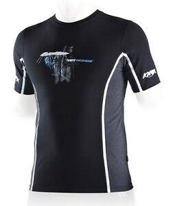 Knox Dry Inside Motorcycle Short Sleeve Sports Fit Top Base Layer Shirt Enduro