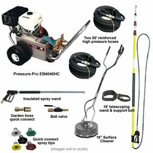 Pressure-Pro 4000PSI Deluxe Start Your Own Pressure Washing Business Kit w A...