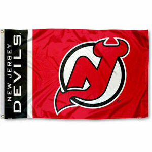 New Jersey Devils Flag Large 3x5