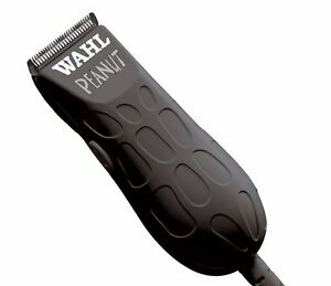 Wahl Peanut 8655 Trimmer Professional Salon Clipper Black Haircut Grooming