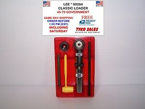 90264 * LEE PRECISION * CLASSIC LEE LOADER SET * 45-70 GOVERNMENT * #90264 * NEW