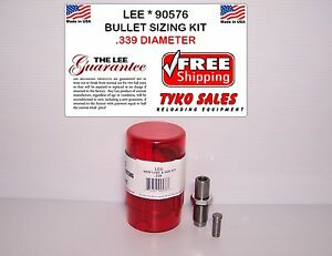 LEE 90576 * LEE PRECISION BULLET SIZING DIE KIT * .339 DIAMETER * 90576