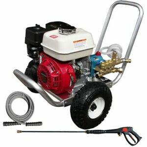 Pressure-Pro Professional 3300 PSI (Gas Cold-Water) Aluminum Frame Pressure W...