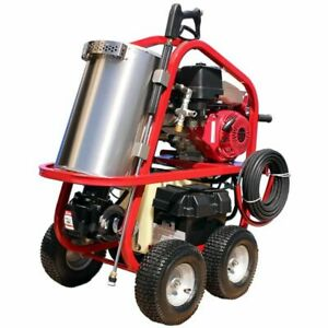 Hot2Go SH Series Professional 3500 PSI (Gas - Hot Water) Pressure Washer w V...