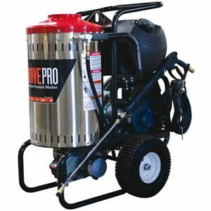 BravePro Professional 2000 PSI (Electric - Hot Water) Pressure Washer w Steam