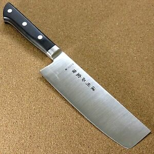 Japanese Masamune Kitchen Nakiri Vegetable Knife 160mm 6 inch Bolster SEKI JAPAN
