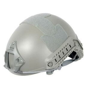 Lancer Tactical Fast Helmet wSide Rails& NVG Shroud& Adjustable Dial OD Green