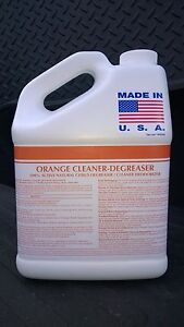 1 GALLON A.P. ORANGE CITRUS CLEANER DEGREASER PATRIOT CHEMICAL SALES
