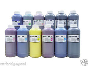 12x500ml pigment refill ink for Canon Wide-format printer iPF6300 iPF6350