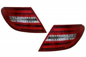 LED Taillights For MERCEDES C-Class W204 2007-2012 Facelift Design