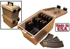 Ammunition Case Bullet Magazine Storage Dust Water Cover Tactic Mag Can Box