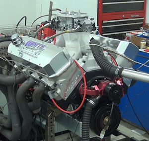 BBC 632 CUBIC INCH STROKER ENGINE 922HP COMPLETE ENGINE- 10.5 COMPRESSION RATIO