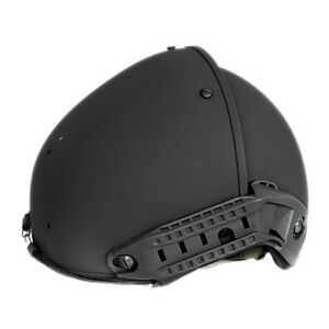 Lancer Tactical CP AF Tactical Airsoft Mission Outdoor Sport Rail Helmet Black