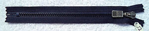 3 YKK Vislon High Quality ZIppers 8 inch Indigo Wine sewing bags pillows crafts $5.00