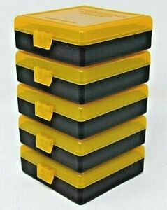 22 lr Ammo Box  Case  Storage (5 PACK) Capacity 100  Smartreloader (NO AMMO)
